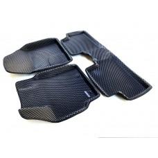 Коврики Euromat 3D EVA с бортиками для Toyota Corolla 2007-2012, Toyota Auris 2007-2012