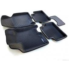 Коврики Euromat 3D EVA с бортиками для Nissan Qashqai 2007-2013
