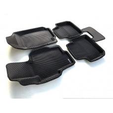 Коврики Euromat 3D EVA с бортиками для Honda Accord 2002-2007