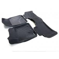 Коврики Euromat 3D EVA с бортиками для Toyota Land Cruiser 200 2007-2012, Lexus LX570 2007-2012