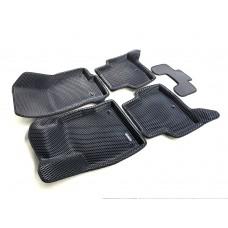 Коврики Euromat 3D EVA с бортиками для Skoda Octavia A7 2013-2020, Audi A3 2014-, Volkswagen Golf 7 2013-